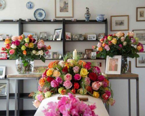 Persoonlijke uitvaartzorg. opbaren in de eigen huiskamer