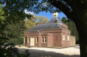 Begraafplaats Steenbrugge, de aula