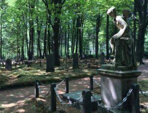 begraafplaats Rozendaal in het bos