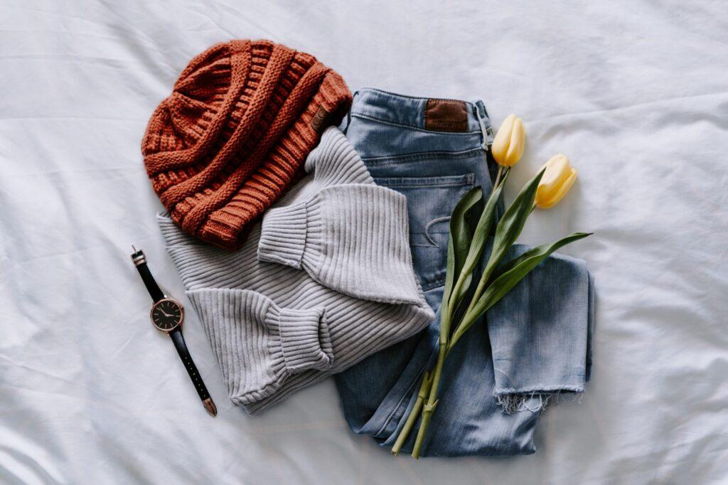 kleding klaarleggen