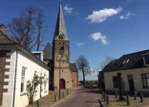 De dorpskerk in Wilp