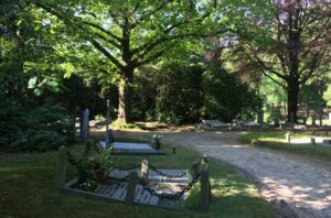 de schitterende begraafplaats Heiderust